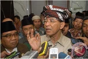 menteri agama dalam acara pembukaan rakernas ldii 2012