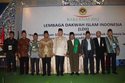 menteri agama di rakernas ldii 2012