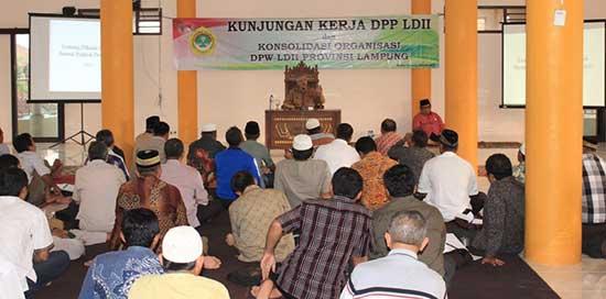 konsolidasi dpw ldii provinsi lampung